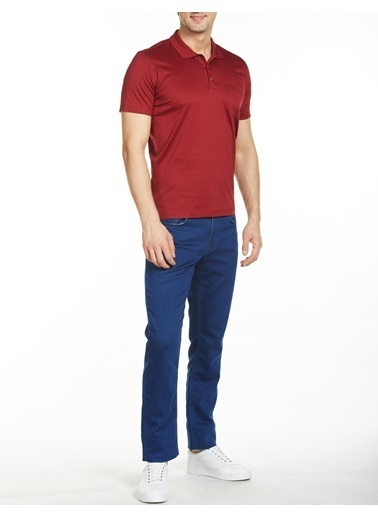 Bisse TSNOSS004 Polo Yaka T'Shirt Kırmızı